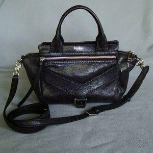 Boltkier black Trigger Leather crossbody bag